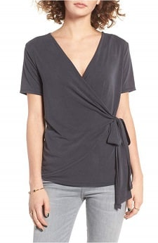 wrap tee for pumping mothers
