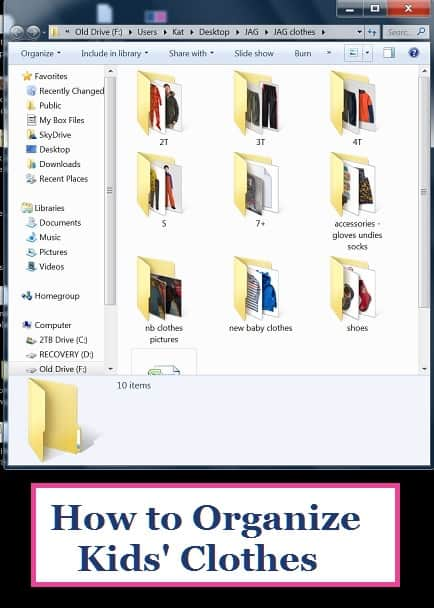 How to Organize Kids' Clothes | CorporetteMoms