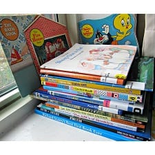 photographing your kids favorite books