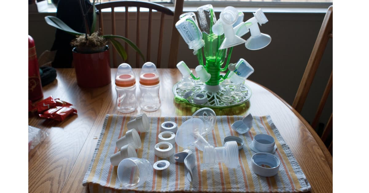 supplies for pumping breast milk