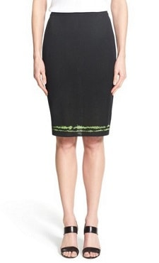 Washable Skirt for Work: Ming Wang Knit Pencil Skirt