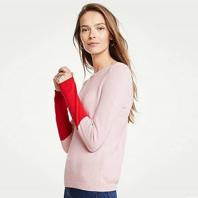 the best machine-washable sweaters for work: Ann Taylor