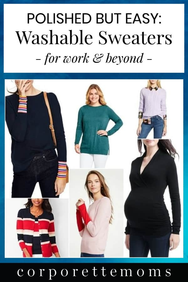 If you want a polished look for work -- but don't want a million dry cleaning bills -- you may think sweaters are out. But there are a TON of machine-washable sweaters for work and beyond -- not to mention some crazy deals for workwear. Here's our roundup...