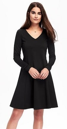 washable-swing-dress-for-work-old-navy