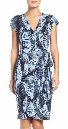 washable wrap dress for work