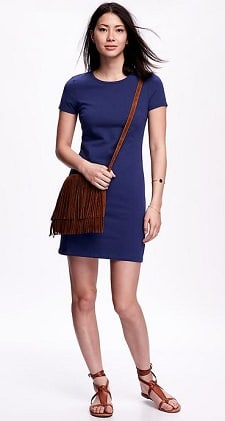 Weekend Dress: Old Navy Fitted Tee Dress