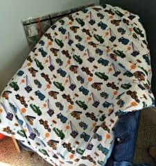 Weighted Blankets, Overactive Four-Year-Olds, and Sleep (Sweet, Elusive Sleep)