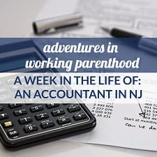 working mom accountant in NJ