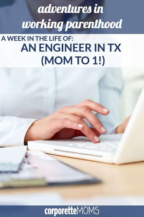 A working mom in Texas shares her work-life balance as a engineer who works at the same company as her husband and makes sure to carve out time for volunteering, working out, and hobbies.
