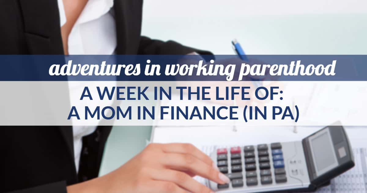 working mom in finance for a non-profit - image of a woman with a calculator