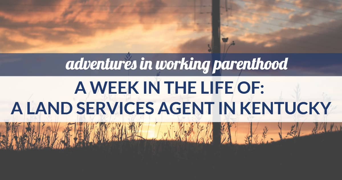 working mom in kentucky with anxiety - week in the life