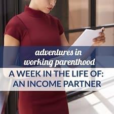 working mom income partner boston