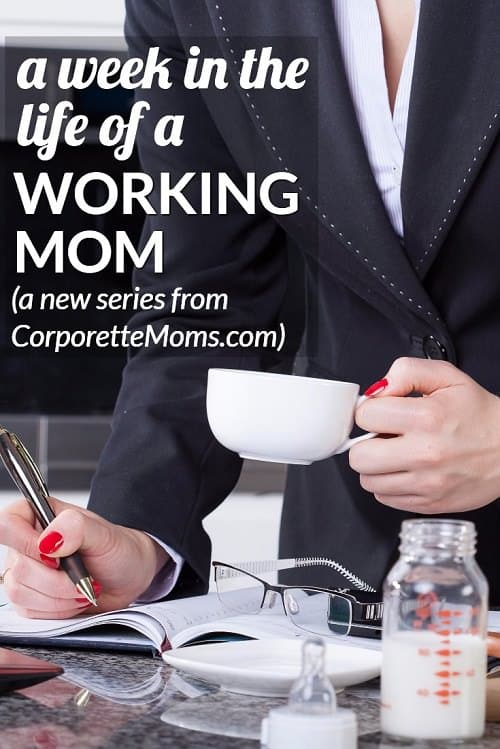 Working moms share a week in their lives, including work-life balance tips from a wide variety of careers.