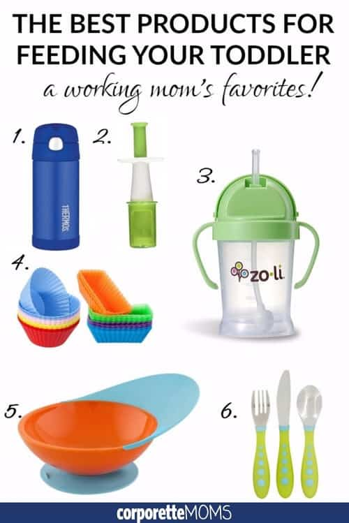 best products for feeding your toddler - a working mom's favorites